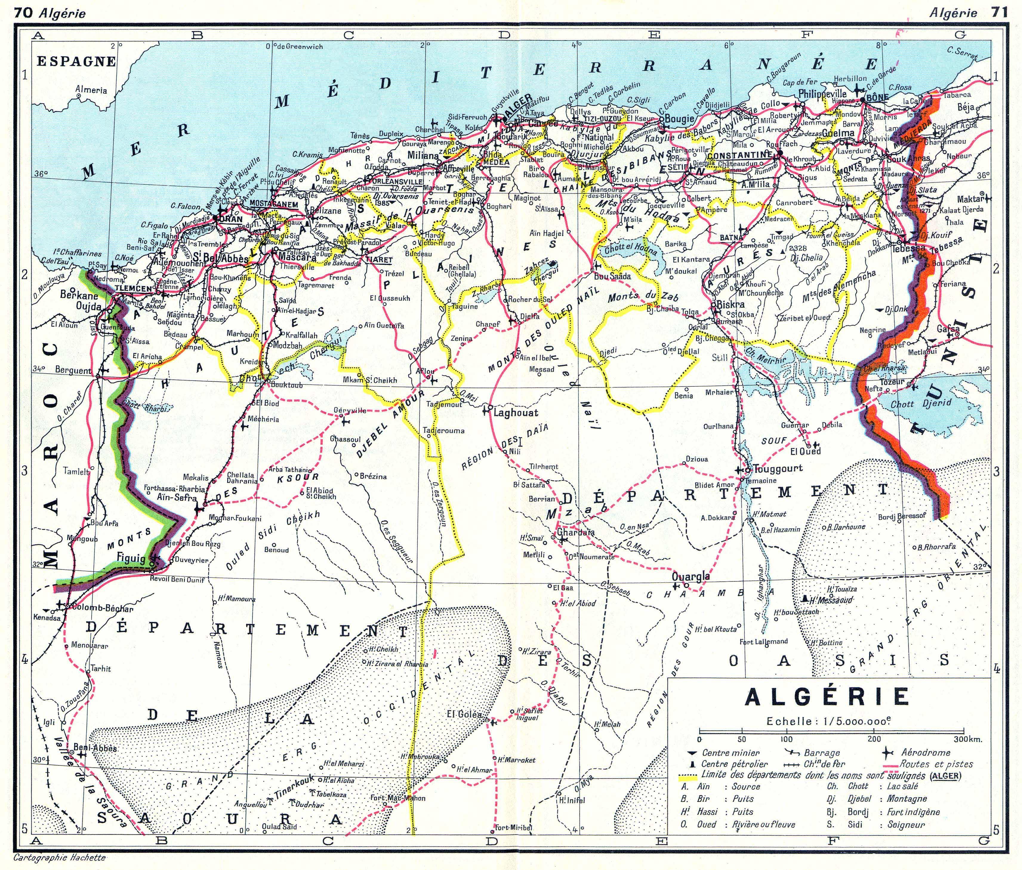 ... Algeria: Algérie ...