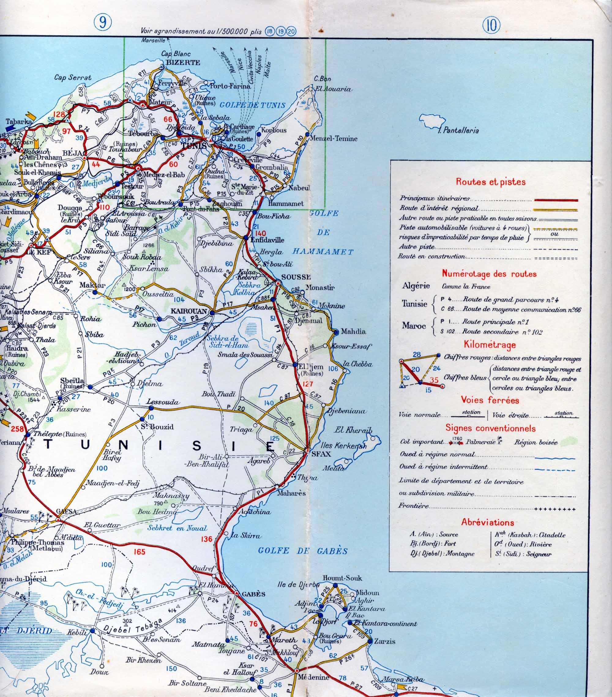 Carte Algerie Et Tunisie.Carte Afrique Du Nord
